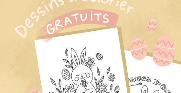 Dessins à colorier gratuits – Pâques
